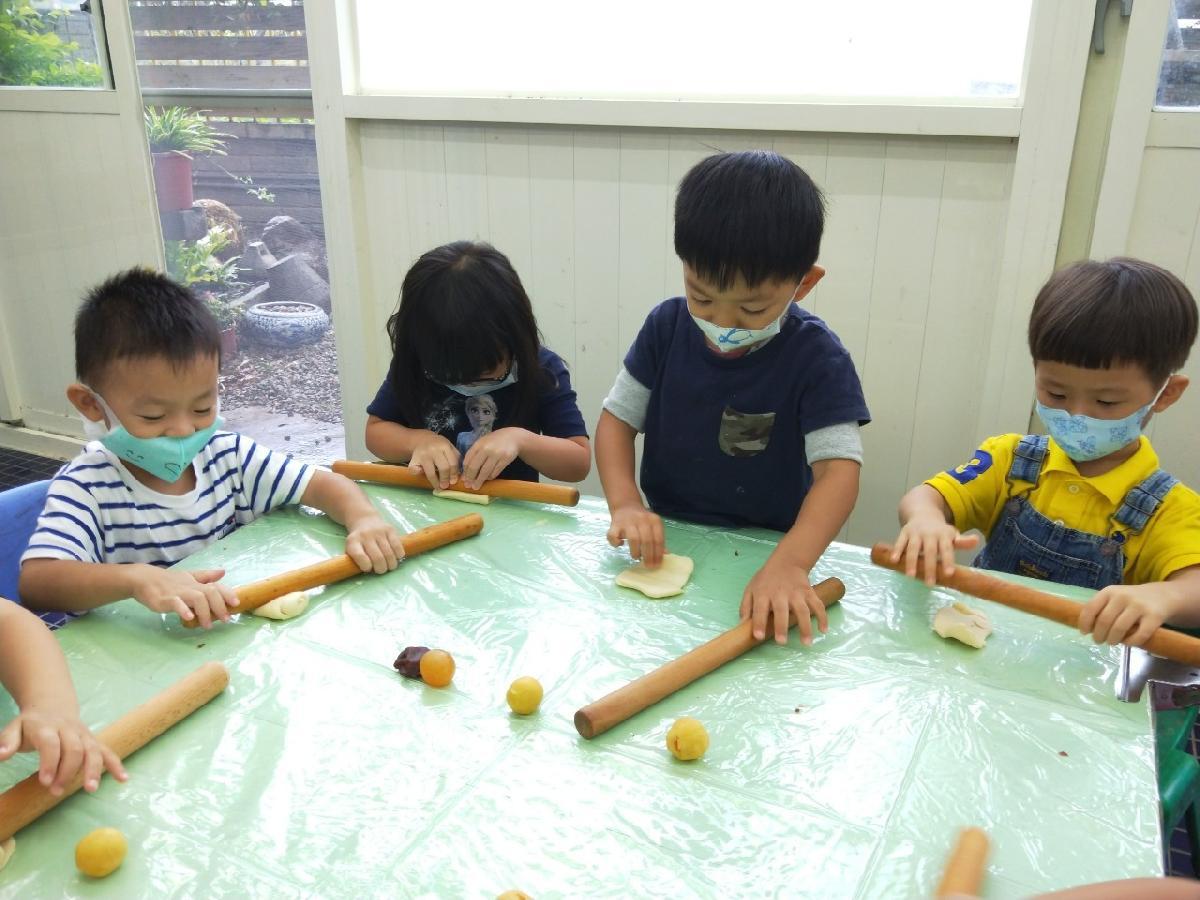 蛋黃酥diy (4)